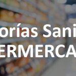 control sanitario supermercados Barcelona